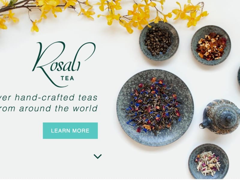 Rosali Tea product launch