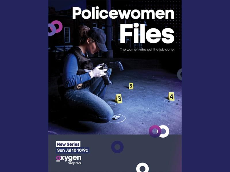 Policewomen Files Key Art