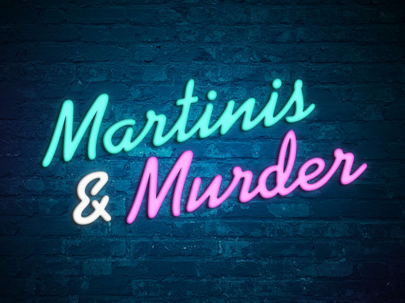 Martinis & Murder Logo