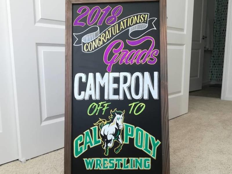 Custom Graduation Sign