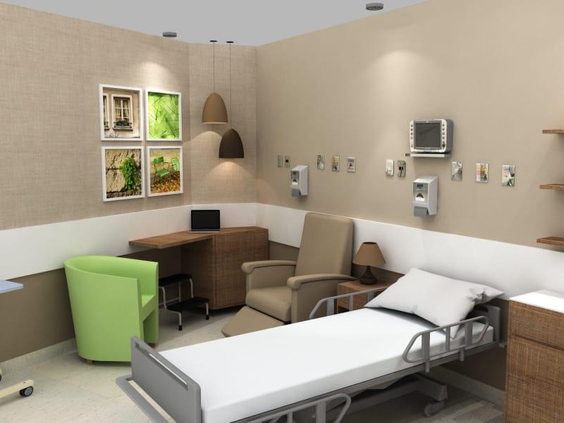 Luxury Patient's Room 1