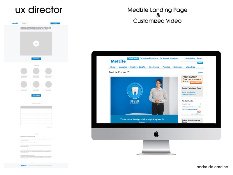 Medlife Landing Pages