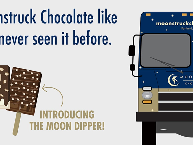 Moonstruck Chocolate Truck Launch