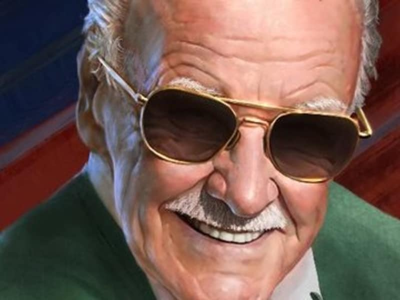 Help Stan Lee Reach 1 Million Twitter Followers Campaign