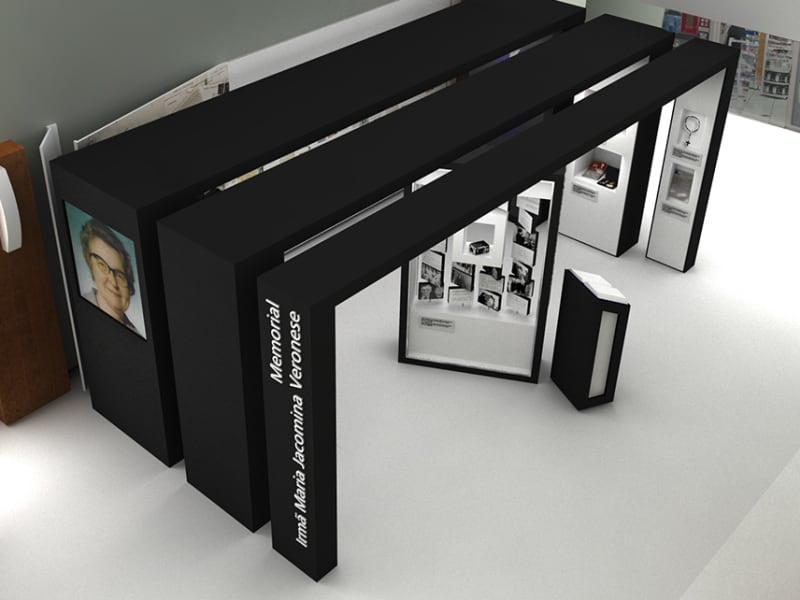 Exhibition Design - Founder's Memorial