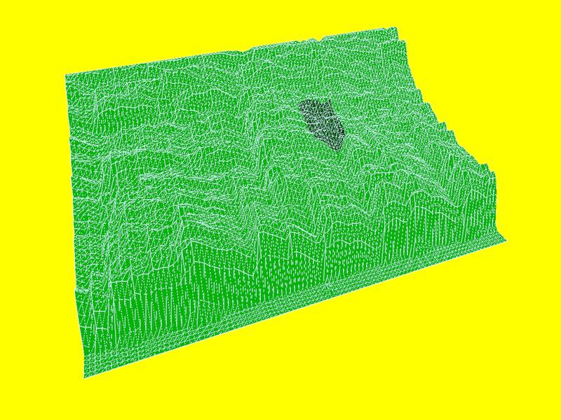 Audio Analyser WebGL