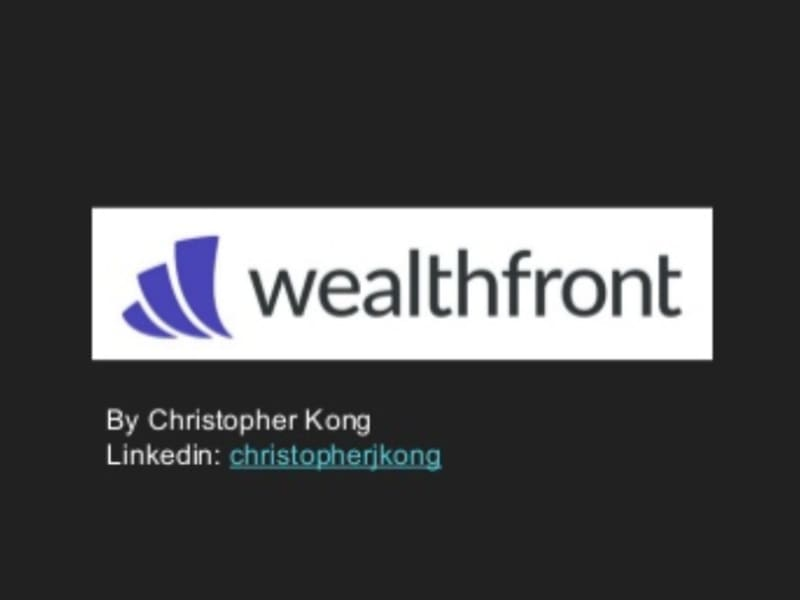 Wealthfront Product Management Presentation