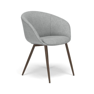 Contemporary Barrel Guest Chair