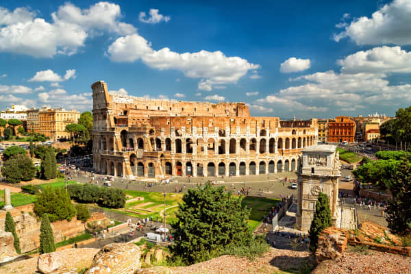 NCL Eastern Mediterranean Cruise & Stay Rome