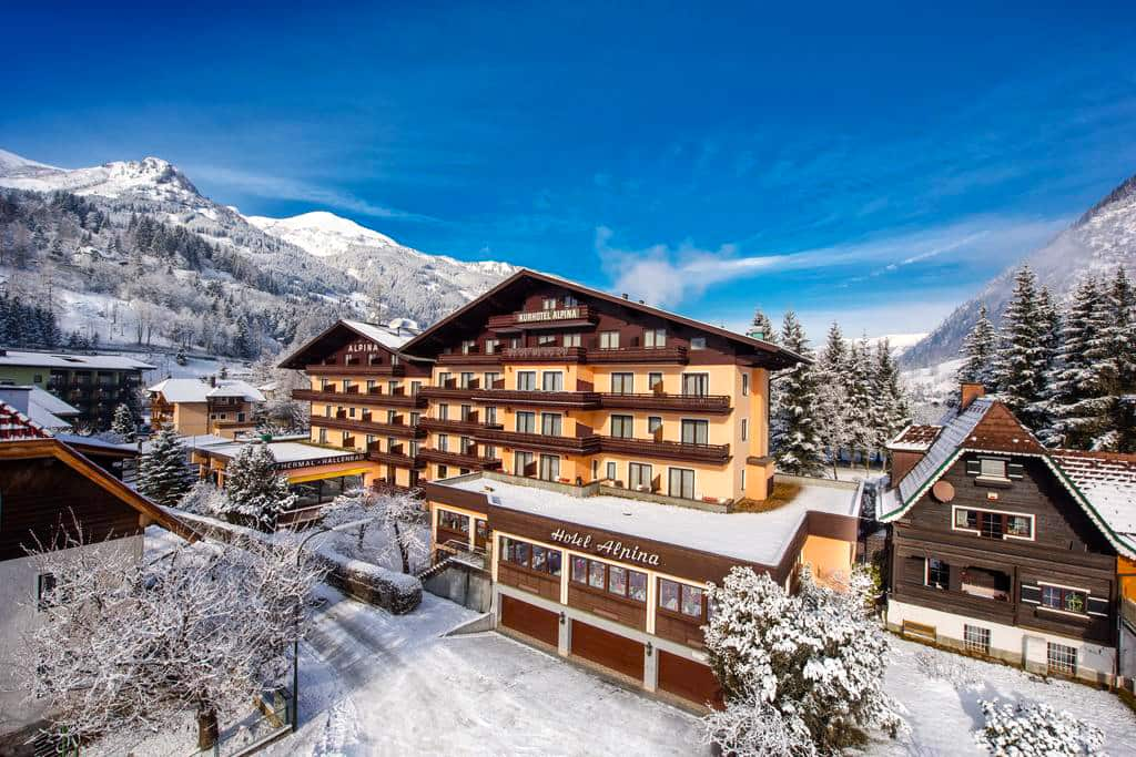 Hotel Alpina Bad Hofgastein Austria Ski Holidays From Topflightie - Hotel alpina austria