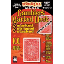 Book-Gambler's Marked Deck Book