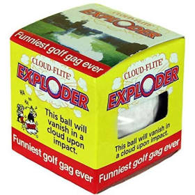 Cloud Flite Exploder Trick Golf Ball