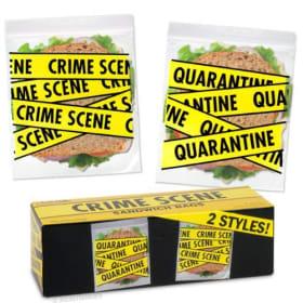 Crime Scene- Sandwich bags