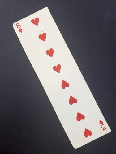 Long Card Hearts