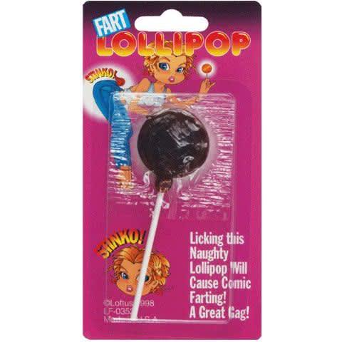 Fart Lollipop