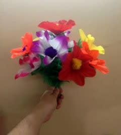 Prod. Flower Bouquet paper number 10