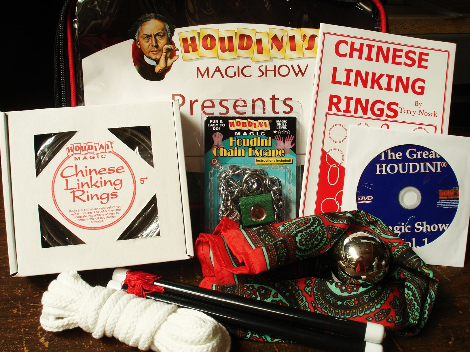 Houdini's Magic Show Set