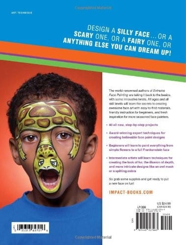 Book-Face Painting For Kids