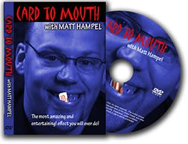 DVD-Card To Mouth