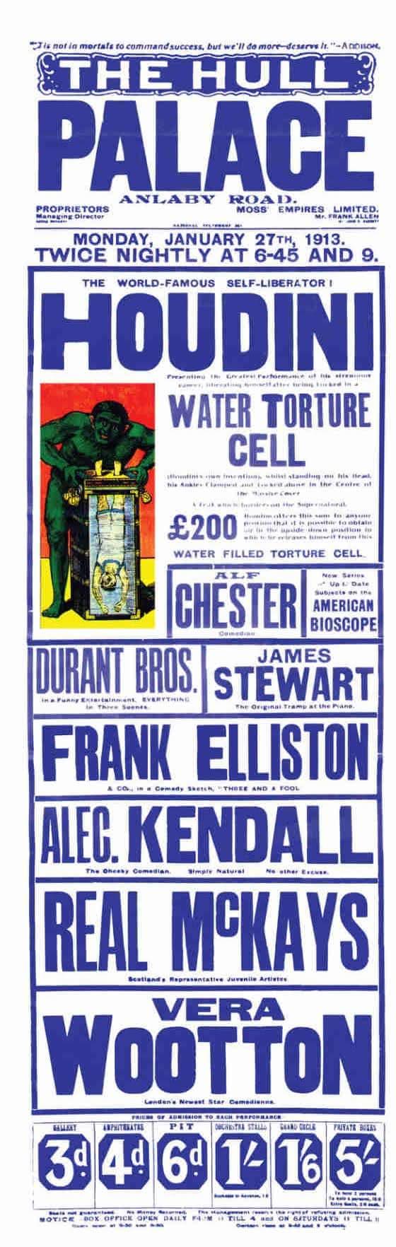 Hull Palace- Poster