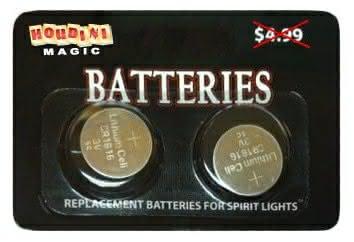 Spirit Light Batteries