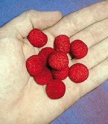 Mini Sponge Balls 1/2 in