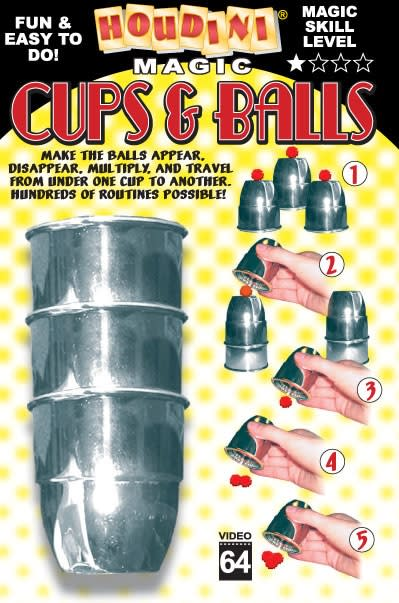 Cups and Balls Set