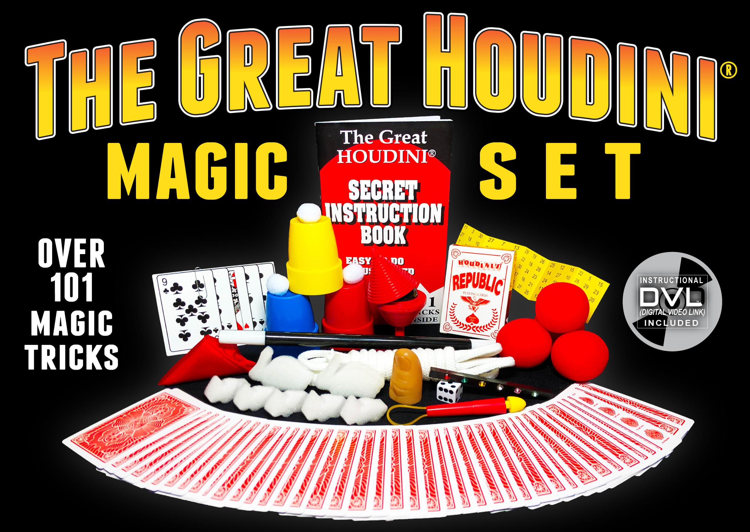 Houdini 101 Trick Magic Set