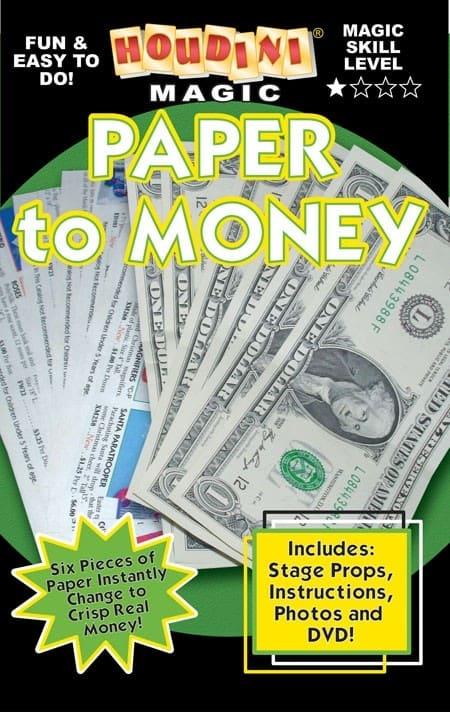 Paper to Money Teaching Video DVL