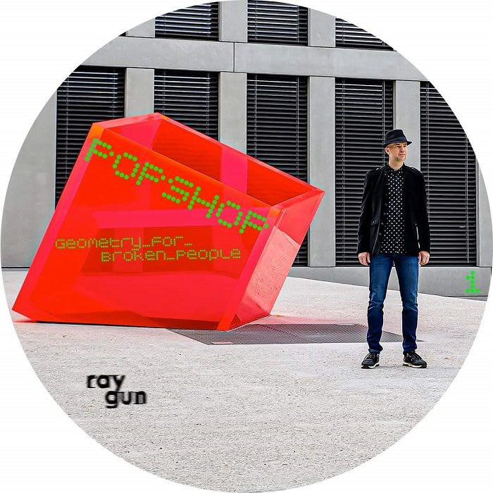 Popshop - Geometry For Broken People LP (Raygun Records)