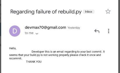 rebuild failed notifier