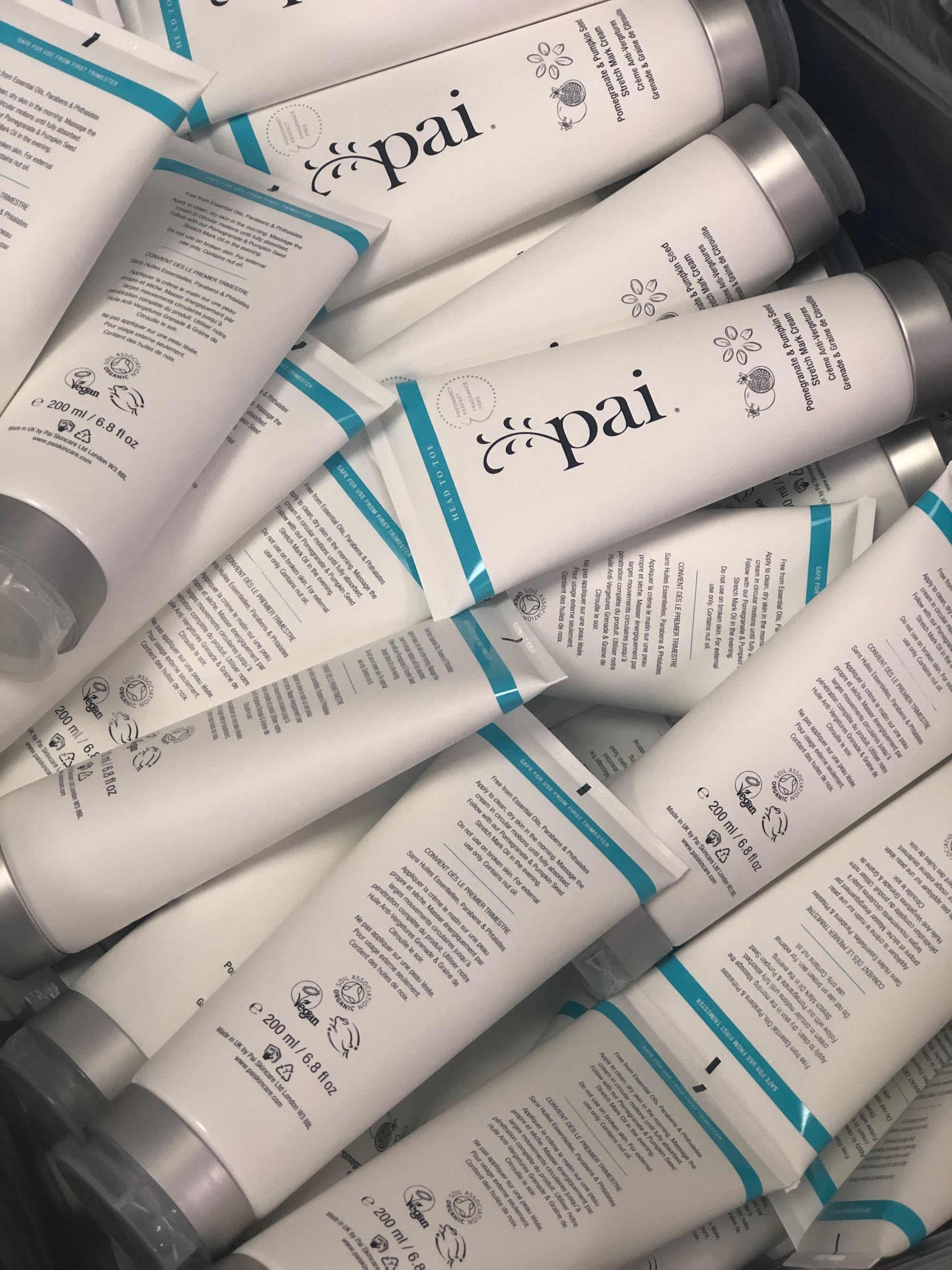 Pai Skincare is manufactured in-house in West London