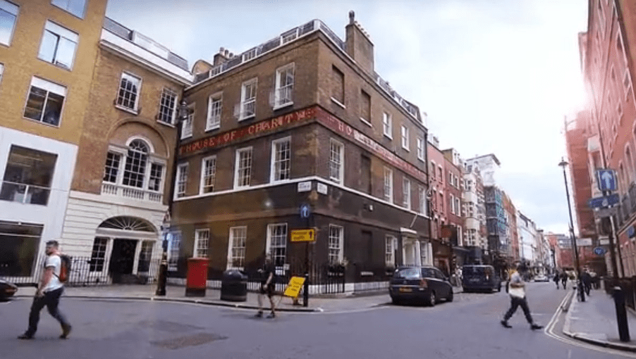 House of St Barnabas private members club London