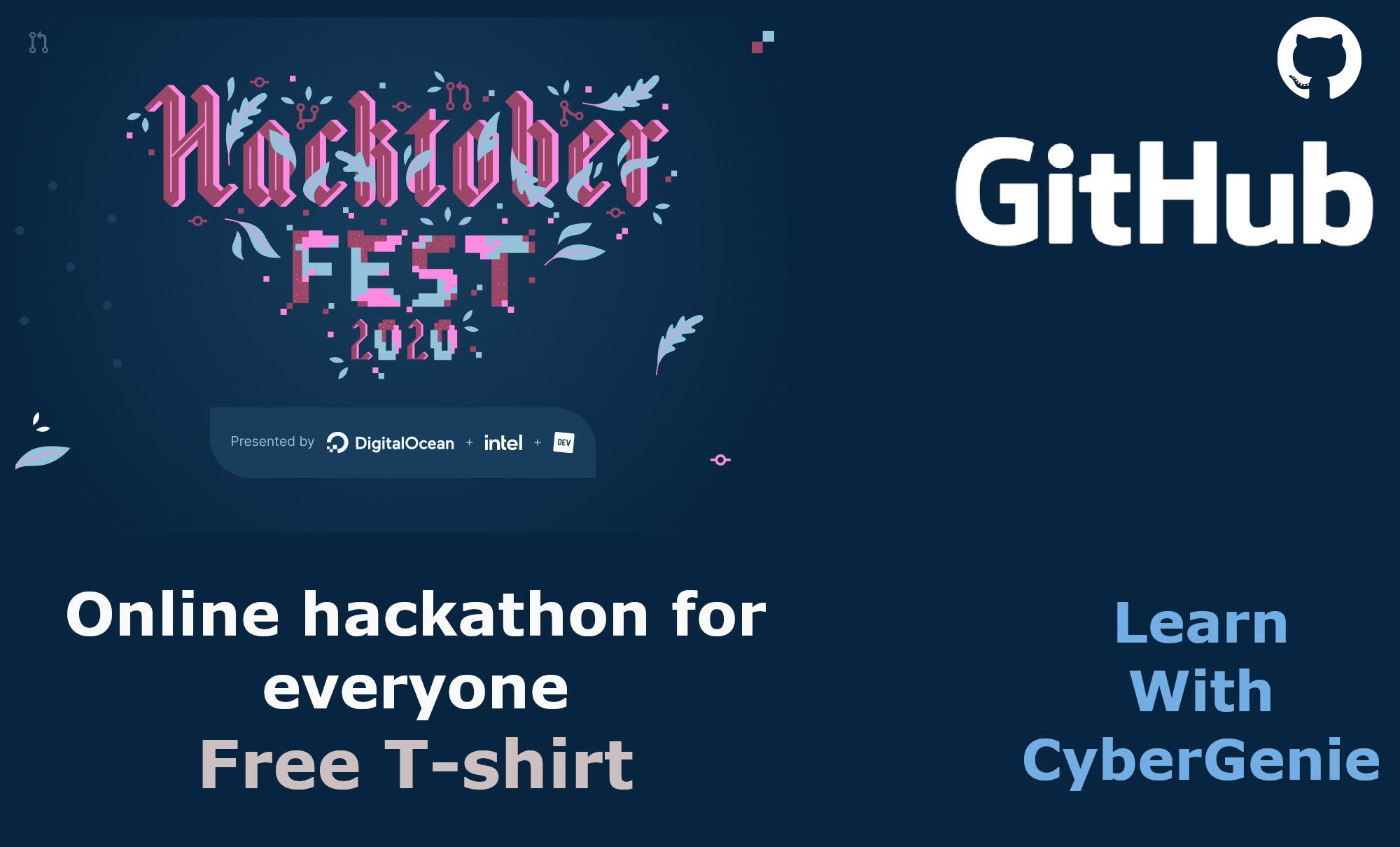 Don't worry this time you can too win Hacktoberfest 2020 T-shirt from this tutorial