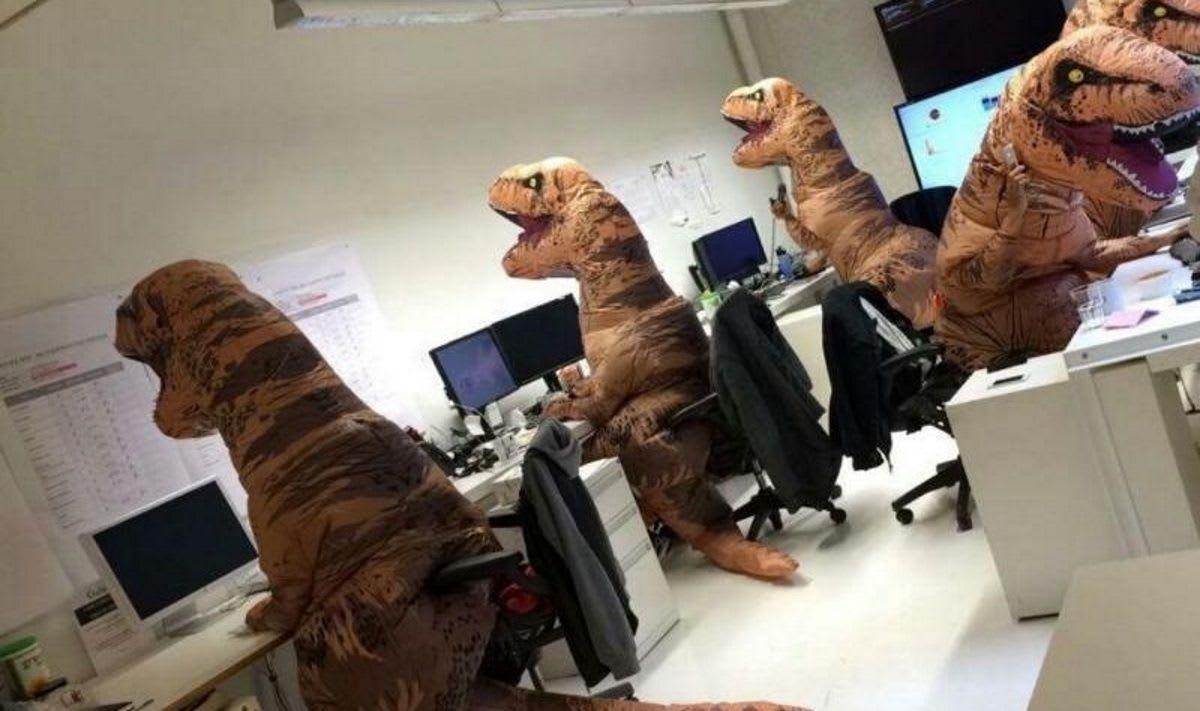 O Famigerado T-Rex Profissional