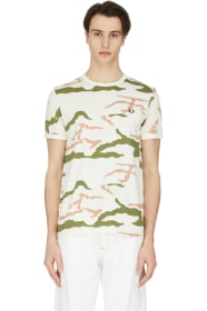 948f9979 Fred Perry - Camouflage T-Shirt - Tundra Camo