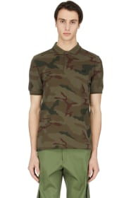 03d7af0d Fred Perry - Camouflage Polo Shirt - Iris Tundra Camo