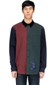 Alexander Wang - Colorblock Shirt - Navy Blue d944fecb390e