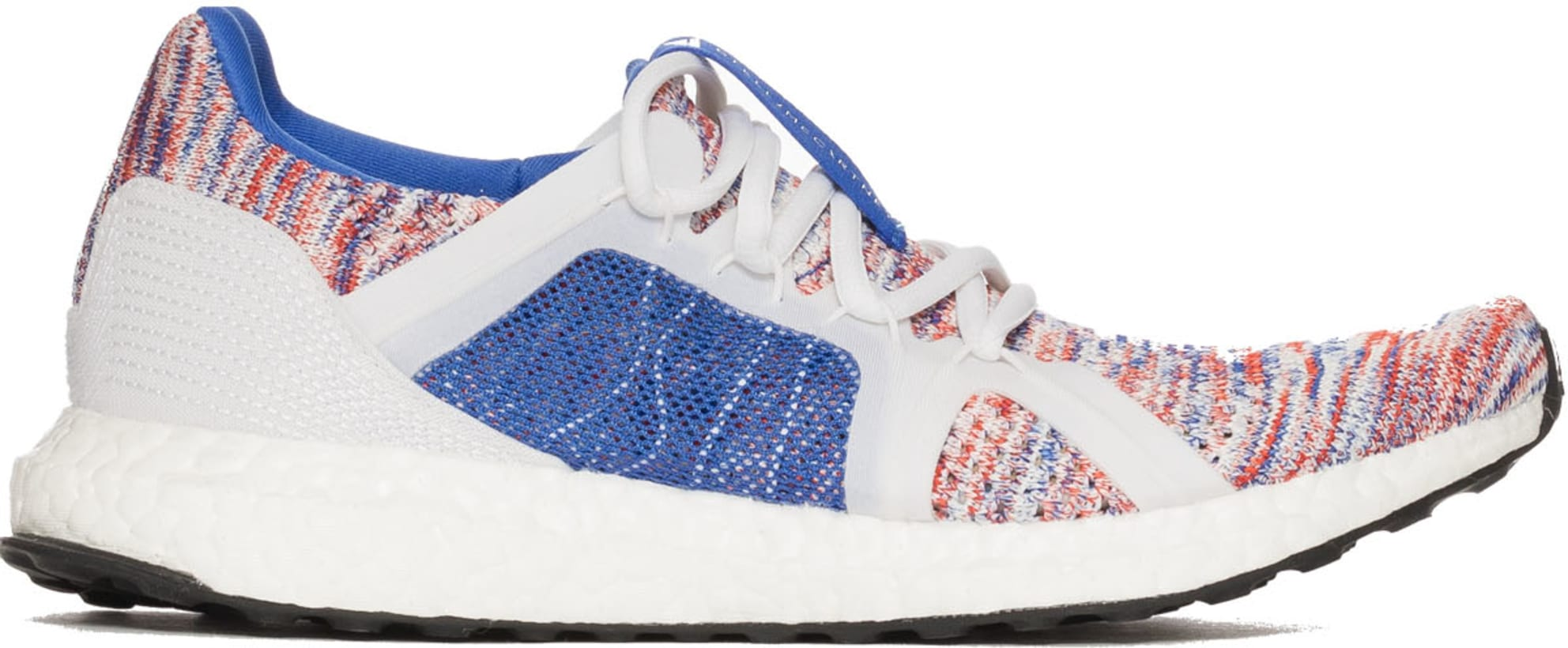 50e9a1bc7e9 adidas by Stella McCartney. UltraBoost Parley - Hi-Res Blue Core White Dark  Callisto