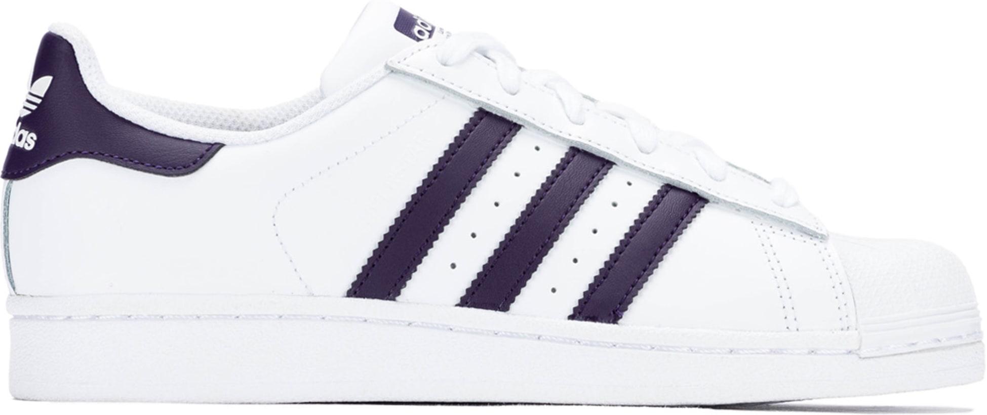 6d070c10615 adidas Originals  Superstar - Footwear White Legend Purple Core ...