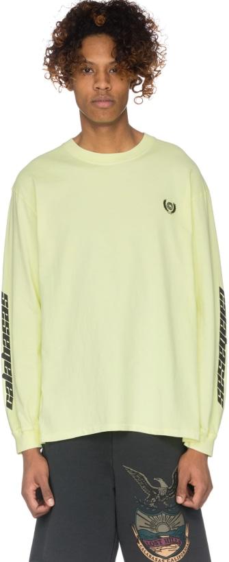 c483f00ba YEEZY  Calabasas Crest Long Sleeve T-shirt - Frozen Yellow