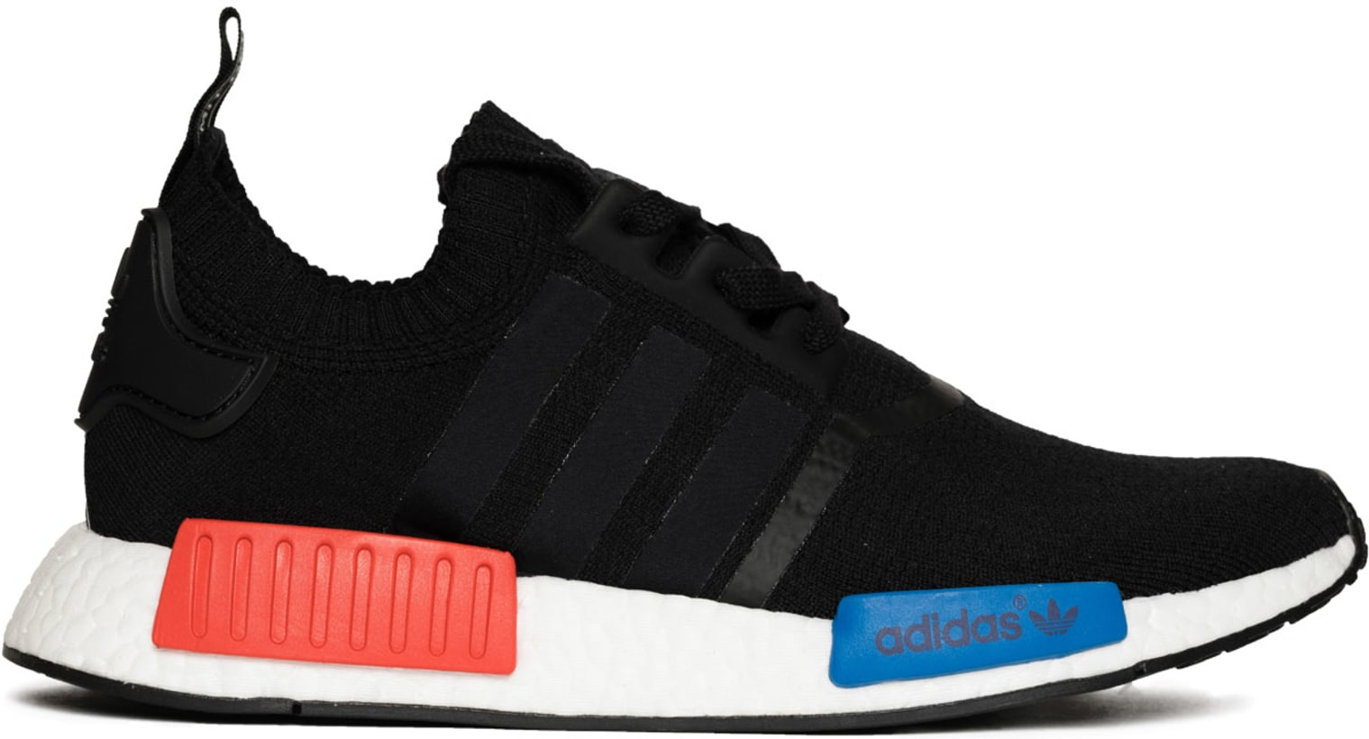 new concept fd8b6 f5993 adidas Originals - NMD R1 Primeknit OG Sneakers - Core Black/Lush Red
