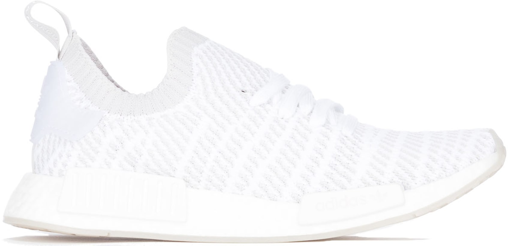Adidas Originals Nmd R1 Stlt Primeknit Cloud White Grey Solar
