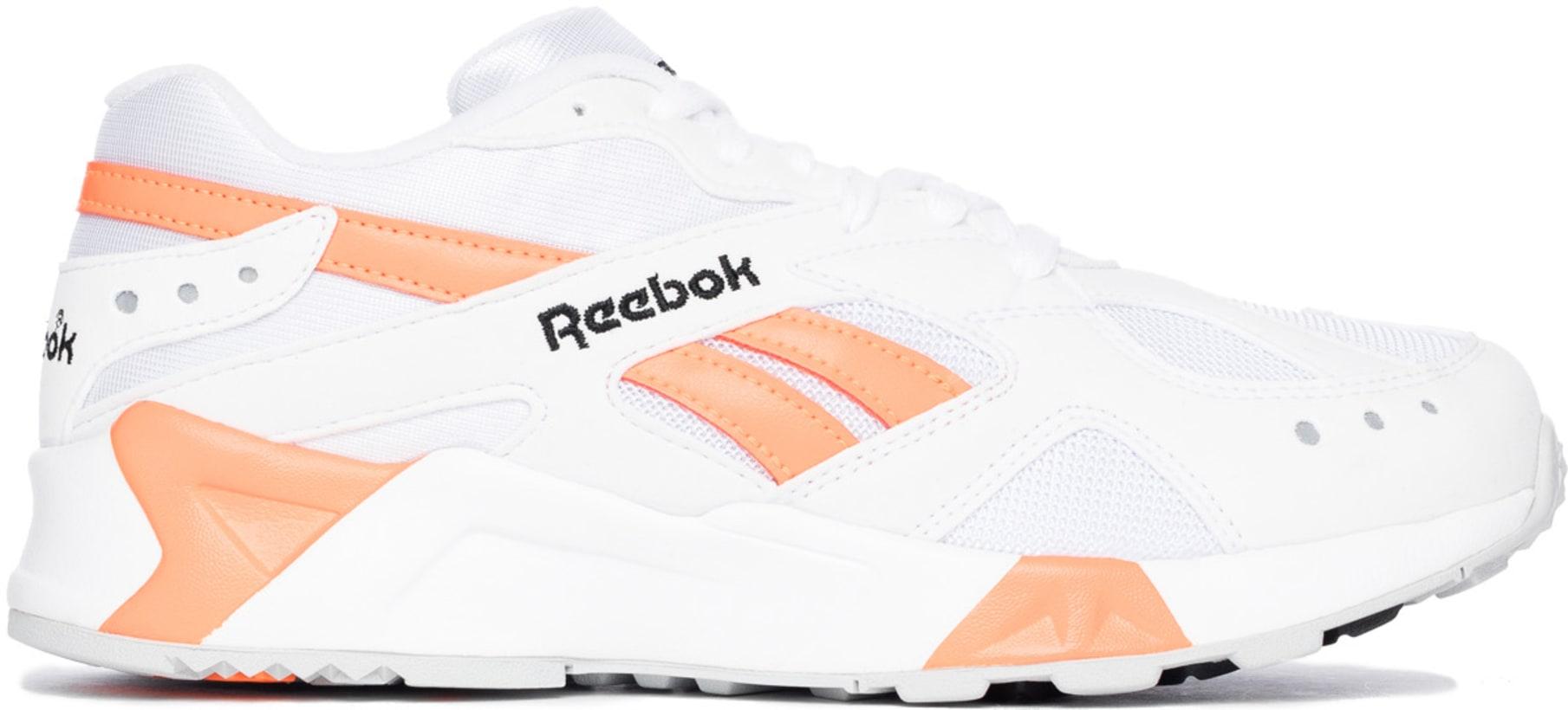 597c89230b5d Reebok  Aztrek - OG White Black Solar Orange