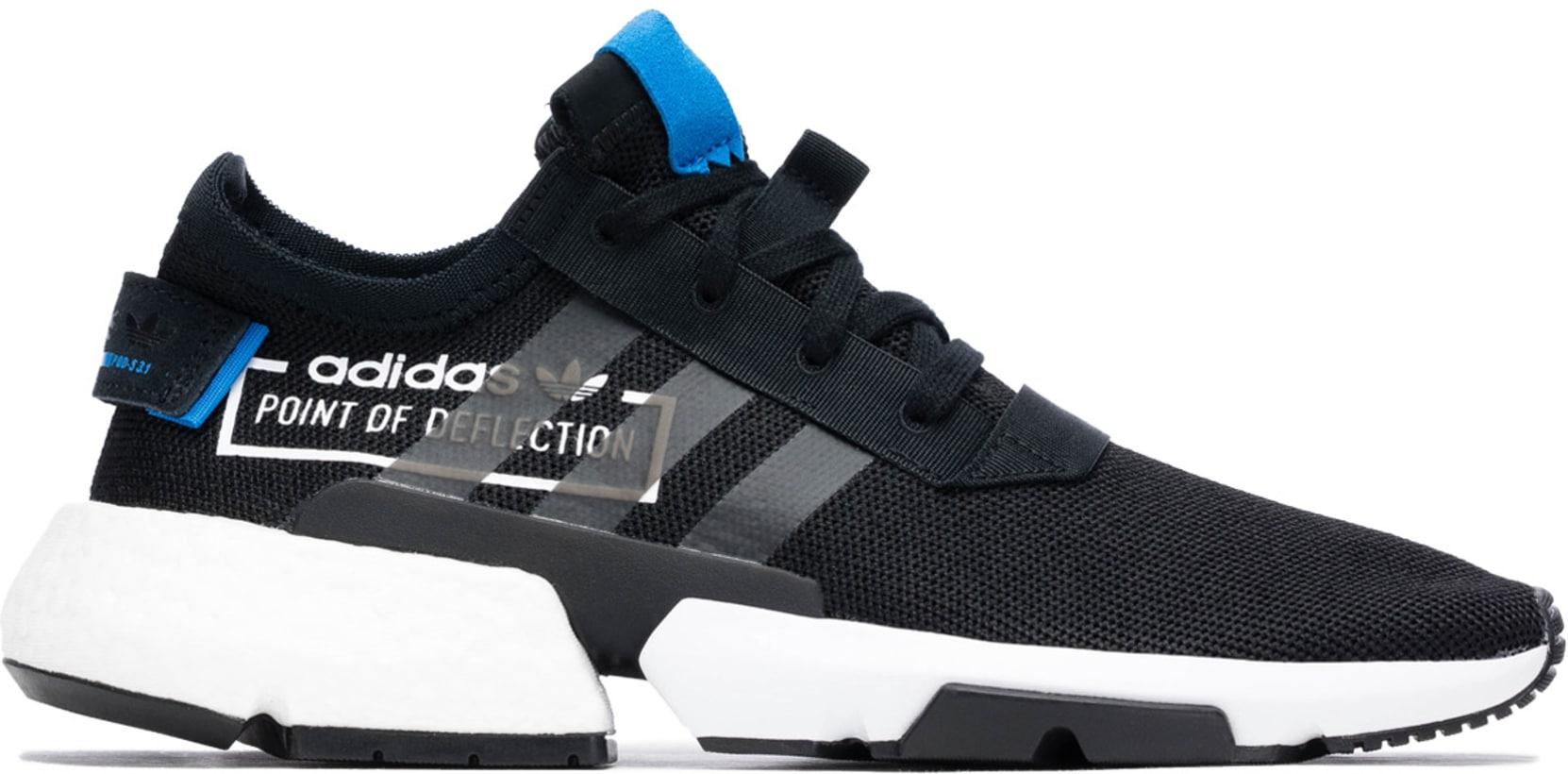 c886c36bd4555 adidas Originals - Pod-S3.1 - Core Black/Core Black/Bluebird