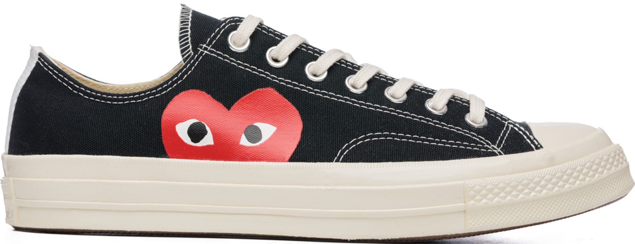 02a8f193d273 Comme des Garçons Play. Play Converse Chuck Taylor All Star  70 Low Top  Sneakers - Black