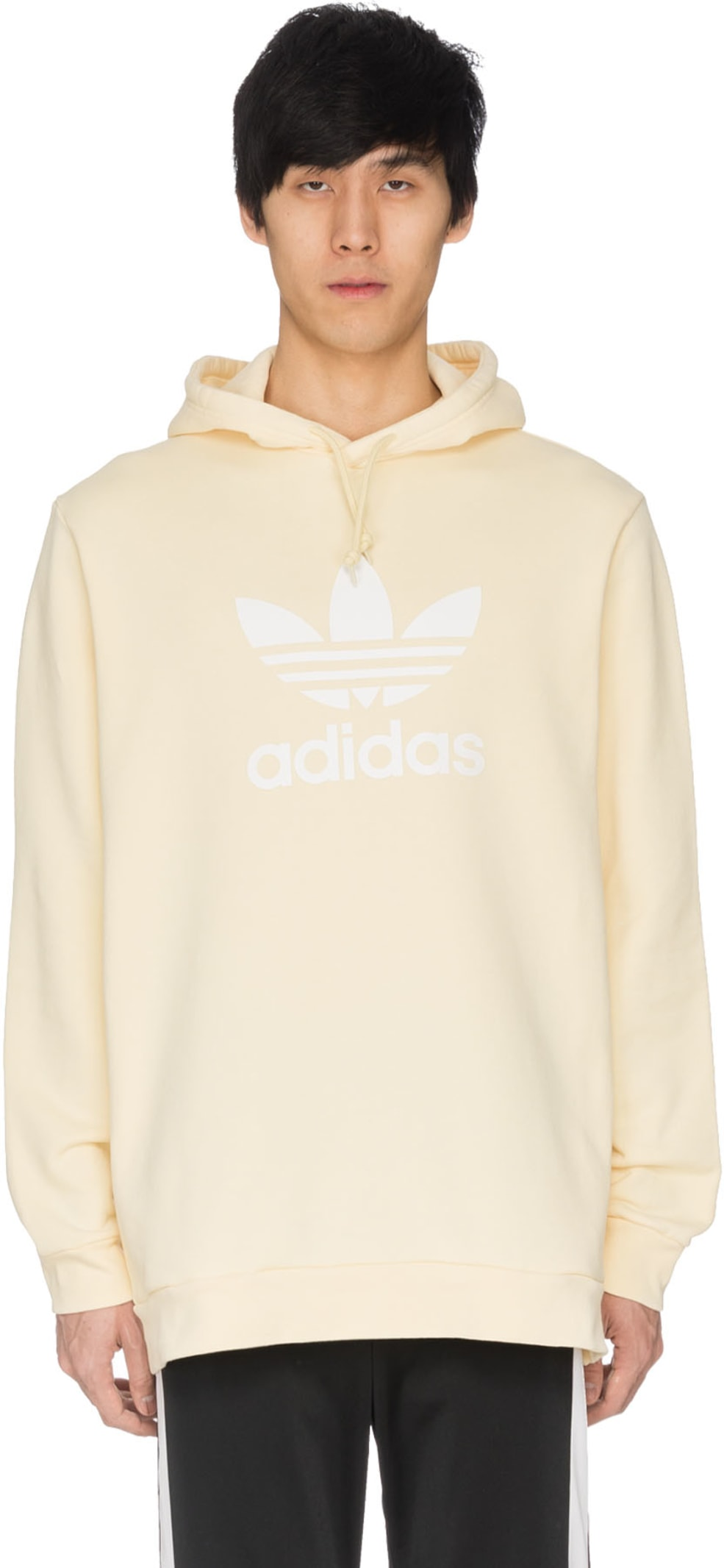 a5adcc7d1e3d adidas Originals  Trefoil Hoodie - Mist Sun