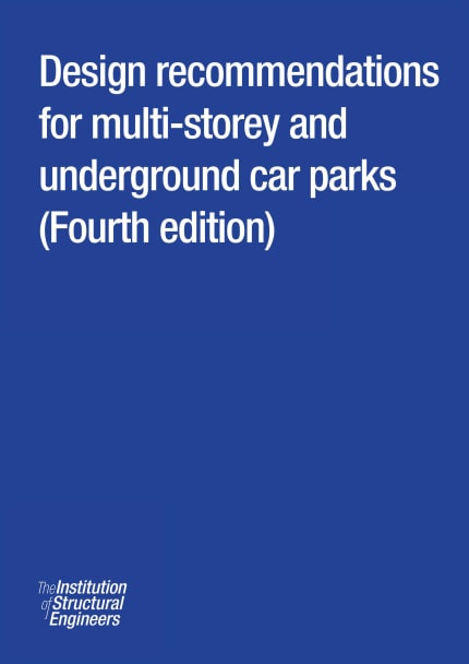 Design recommendations for multi-storey and underground car parks