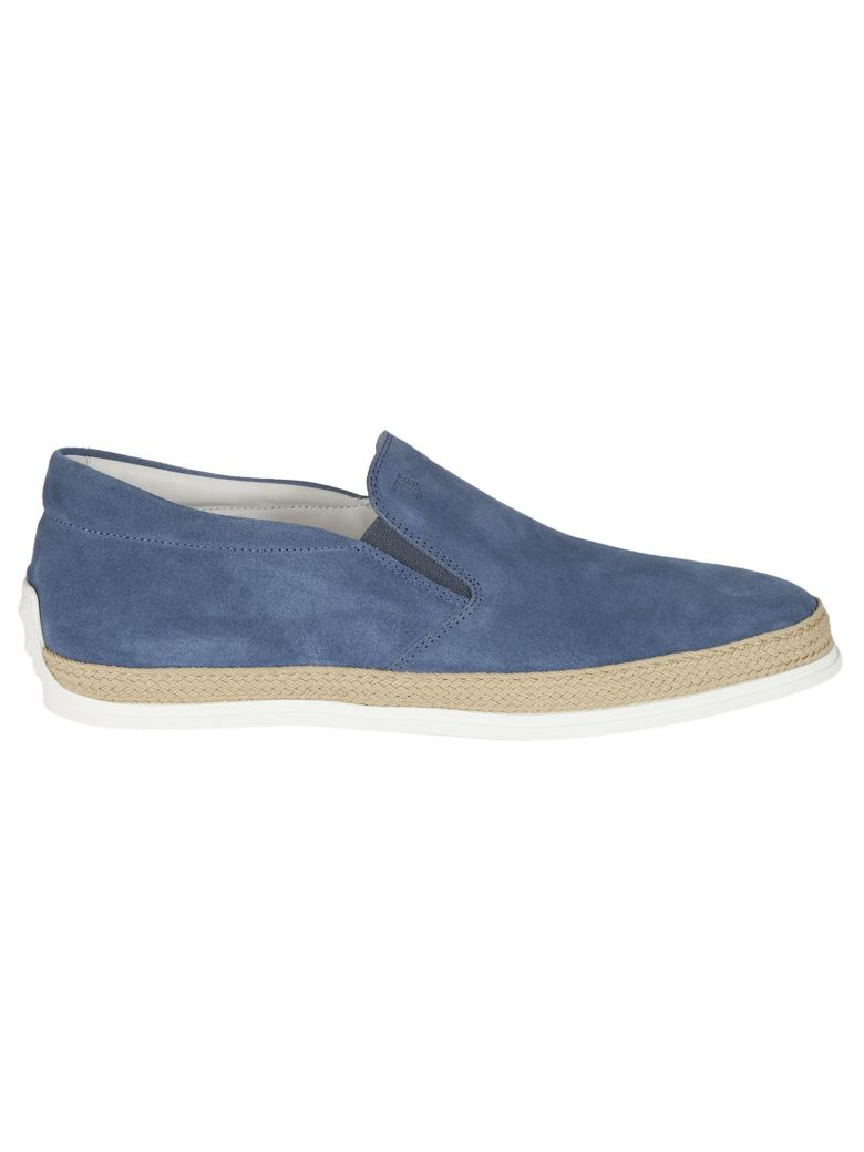 Pantofola suede slip-on espadrilles Tod's kDOUJ38e9X