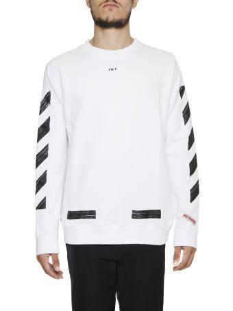 Diag Print Sweatshirt